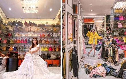 It-Girl zeigt ihren 65-m²-Kleiderschrank