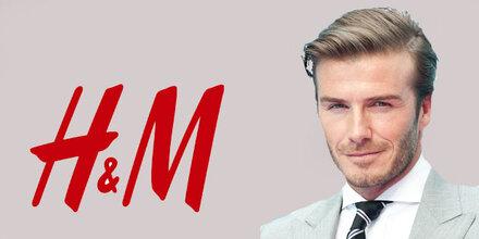 David Beckham designt für H&M
