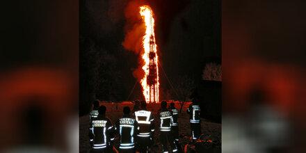 Rekordfunken in Vorarlberg endet fast in Feuer-Drama
