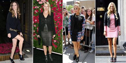 Stilbruch:  Stiefel zu Kleid