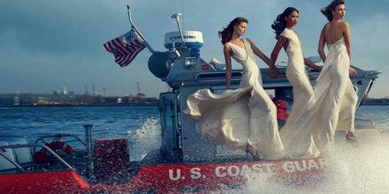 Vogue ehrt die Helden der USA