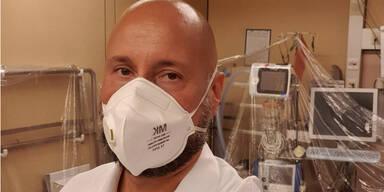 Arzt Christoph Steininger warnt: Intensivstation im Wiener AKH voll mit Corona-Patienten