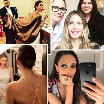 Oscar-Stars auf Instagram: Ganz intim