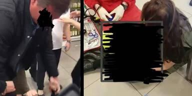 Müller Wien Attacke Kopftuch