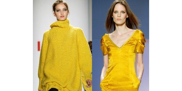 Promis und Designer lieben Gelb