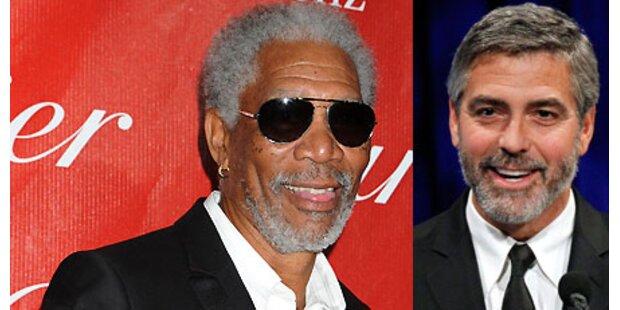 Kritikerpreise für Clooney und Freeman