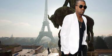 Kanye West präsentiert Kollektion in Paris