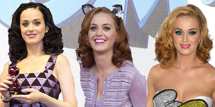 Katy Perry ist jetzt blond