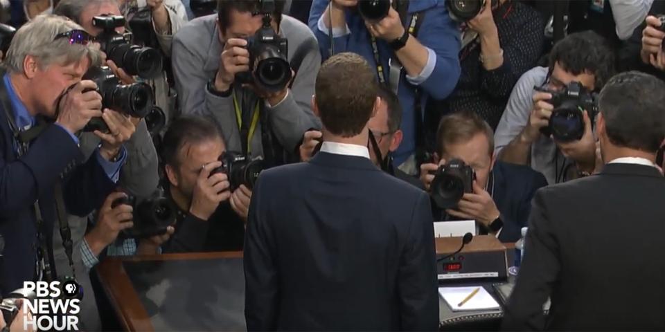 Zuckerberg Anhörung