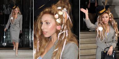 Lady Gaga als Meerjungfrau-Sekretärin