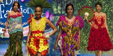 Blütenzauber: Bio-Fashion aus Kolumbien