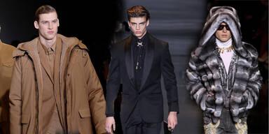 Mailand Fashion Week: Der Mann hüllt sich ein