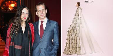 Valentino für monegassische Traumhochzeit