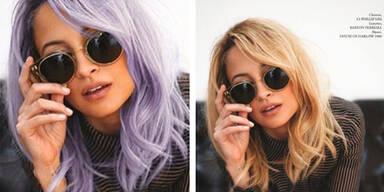Nicole Richie: Plötzlich lila Haare?