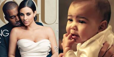 Wurde Baby Nori für Vogue-Fotos geschminkt?