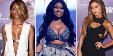 Nicky Minaj, Jourdan Dunn, Ariana Grande