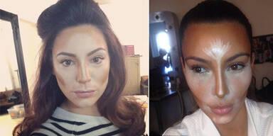 Kelly Brook, Kim Kardashian