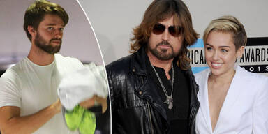 Billy Ray Cyrus, Miley Carus, Patrick Schwarzenegger