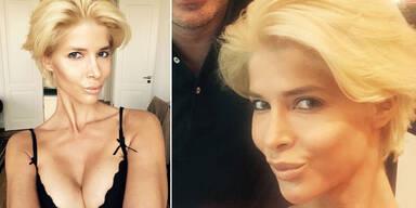 Micaela Schäfer ist blond