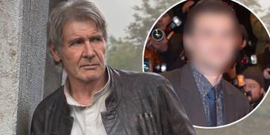Alden Ehrenreich, Harrison Ford
