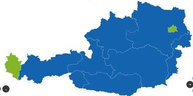 Hofer holt 7 Länder, aber VbD mit 63% in Wien