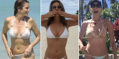 Bikini-Stars über 50