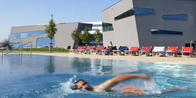 Sommer in der Therme Wien