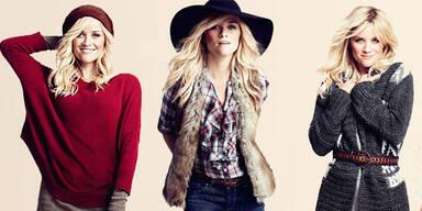 Reese Whiterspoon modelt für Lindex