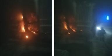 Baustellen-Brand im Koralmtunnel: 13 Arbeiter mussten flüchten