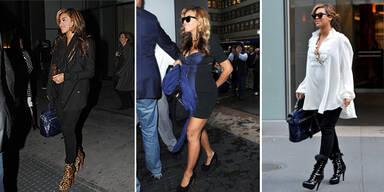 Beyoncé hochschwanger auf Killer-Heels