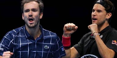ATP Finals: Thiem muss im Final gegen Medwedew ran