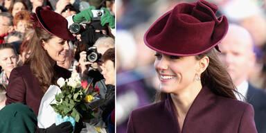 Kate strahlte bei royaler Messe