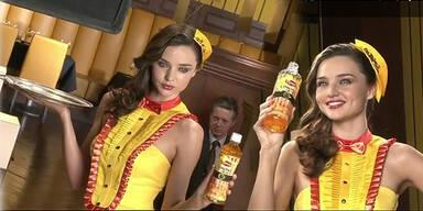 Miranda Kerr singt für japanischen Lipton Ice-Tea
