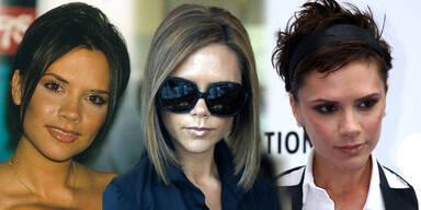 Victoria Beckhams Frisuren im Wandel der Zeit