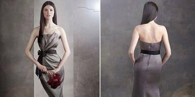 Vera Wang-Model auf Wespen-Taille gephotoshopt
