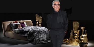 Roberto Cavalli zeigt in Milan seine Home-Kollektion
