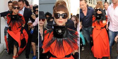 Lady Gagas  Skandaloutfits