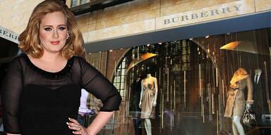 Adele: Designer-Kollabo mit Burberry?