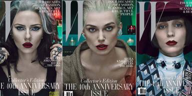 Stars mal ganz anders für W-Magazine