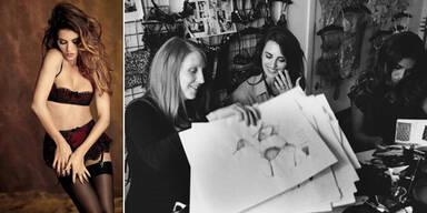 Cruz-Schwestern designen sexy Lingerie