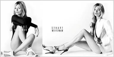 Kate Moss modelt für Luxus-Schuhlabel