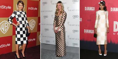 Diese Stars setzten auf DAS Louis Vuitton Kleid