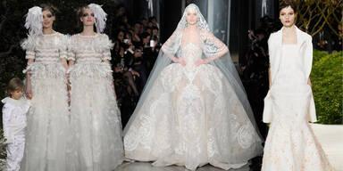 Braut-Trends aus Paris