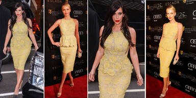 Kim Kardashian vs. Charlize Theron