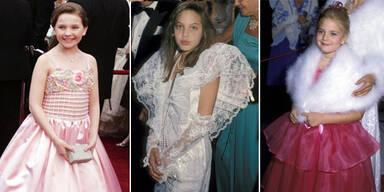 Kleine Hollywood-Stars bei den Oscars