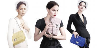 Jennifer Lawrence wirbt für Dior
