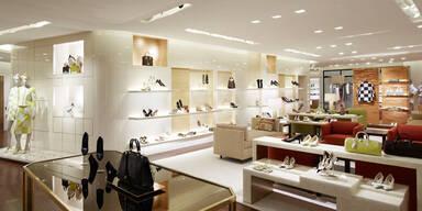Louis Vuitton eröffnete Damenabteilung