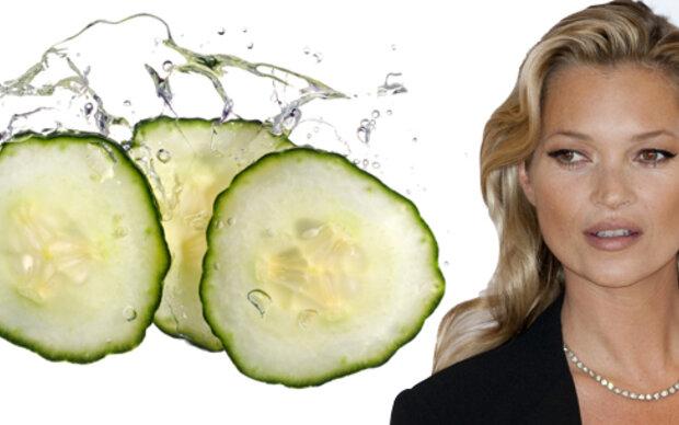 Kate Moss' Frische-Kick gegen müde Haut