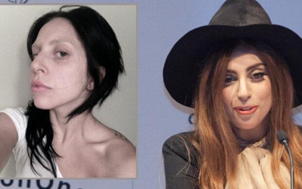 Unerkennbar: Lady Gaga ohne Make Up