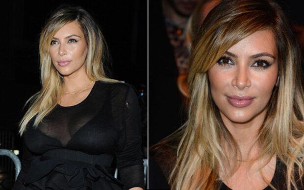 Kim zeigt sich blond bei Givenchy-Show